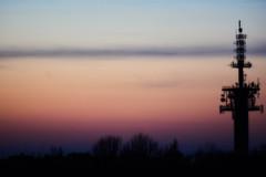 Tower (Michal Zawolek) Tags: krakow kraków krakau cracow soft dusk twilight nightfall cityatnight nightshot city cityscape cityscapes highcontrast contrast goldenhour golden blue hour bluehour