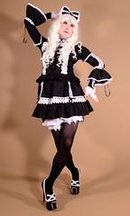 124H4L (klarissakrass) Tags: lolita lolitadress sissy crossdress transgender heels highheels pumps sexylegs bordellos costume cosplay
