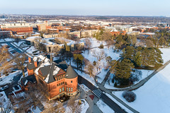 2019 - January - CHS - Snowy Winter Break Sunday-157-HDR.jpg (ISU College of Human Sciences) Tags: building winter forker campus buildings foodsciencebuilding morrill snow lagomarcino ringoflife drone campanile scenic palmer fshn chs mackay beauty