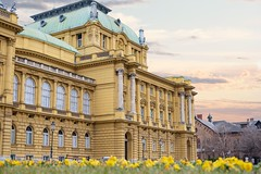 The National Theatre in Zagreb (Yvan Rouxel) Tags: cityofzagreb croatia january nationaltheatre wpcroatia winter zagreb hrv