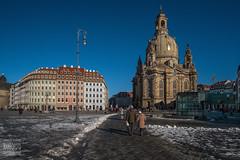 Frauenkirche - Neumarkt Dresden (Rambofoto) Tags: architektur dresden frauenkirche sachsen fujifilmxt20 neumarktdresden