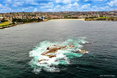 Wedding Cake Island or Lemo's Island, Coogee Bay, Coogee Beach, Sydney, NSW (Black Diamond Images) Tags: coogeebeach coogee sydney nsw australia djimavicpro2 djimavic2pro mavic2prodrone mavic2pro hasselbladl1d20cdrone aerialview aerialphoto aerialphotography australianbeaches bwimages beach water beachlandscapes beachlandscapeseascapes seascape weddingcakeisland goldsteinreserve grantreserve trennaryreserve dunninghamreserve thompsonsbay coogeebay island landscapepro landscapepro2 lemosisland coogeeislandchallenge notes