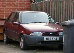 N89 FHJ (Nivek.Old.Gold) Tags: 1996 ford fiesta si 16v 5door 1242cc