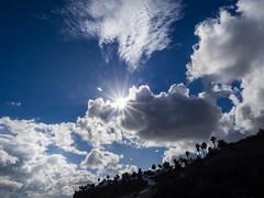 all days sunshine (mohnblume2013) Tags: sonne fuerteventura stern sonnenstern wolken jandia