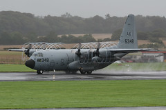 165348 Lockheed C130T Hercules EGPK 18-08-18 (MarkP51) Tags: 165348 lockheed c130t hercules usn unitedstatesnavy military turboprop transport prestwick airport pik egpk scotland aircraft airliner airplane plane image markp51 nikon d7200 sunshine sunny planeporn aviationphotography nikon70200f4vr