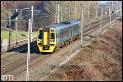 Transport for Wales - 158837 (Tf91) Tags: rail railway sprinter 158 class158 transport for wales tfw arriva trains moore manchester carmarthen