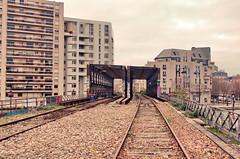 254 - Paris - Février 2019 - les anciennes voies de la Petite Ceinture vers le Canal de l'Ourcq (paspog) Tags: paris france petiteceinture bassindelavillette canaldelourcq février februar february 2019