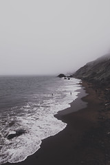No Illusions (gabyuchi1) Tags: beach red colors color gloomy moody illusions mood view landscape