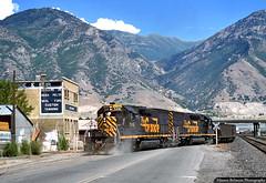Dust in the Wind (jamesbelmont) Tags: riogrande drgw emd sd40t2 tunnelmotor provo utah wasatch provopeak railroad railway train locomotive
