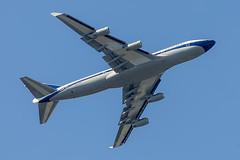 """British Airways Boeing 747-436 """"BOAC (1964-1974) retro""""  G-BYGC (pointnshoot) Tags: canonef300mmf28lisiiusm britishairways boeing747 b744 boac19641974retro gbygc shorelinelakepark shorelinelake"""
