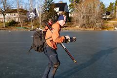 Pirat-Johan (David Thyberg) Tags: långfärdsskridsko winter nature skate sweden stockholm skating 2019 ice sverige rotebro se