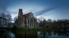 Feuersee (Marc R. A.) Tags: city building church architecture clouds longexposure