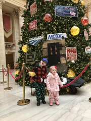"Christmas Tree at Union Station • <a style=""font-size:0.8em;"" href=""http://www.flickr.com/photos/109120354@N07/32567936818/"" target=""_blank"">View on Flickr</a>"