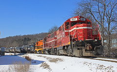 RSR 807 (GLC 392) Tags: rsr bp bprr buffalo pittsburgh emd gp9 road slug gp403 rochester southern railroad railway train butler pa pennsylvania local 626 807 3807
