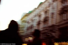 War! (Annalisa Tiozzi) Tags: wien austria streetphotography blurred vague travel travelphotography city urban people abstract concept vienna sky building shadows
