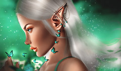 Butterfly (charlotepetrova) Tags: firestorm secondlife art 3d digital retouch ps photoshop photographer photography nature elf magic captures