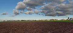 Landscape from Belgium (Franck Zumella) Tags: landscape paysage belgique belgium campagne sky ciel blue bleu nuage cloud clouds earth terre view vue wide