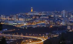 A Coruña (Chencho Mendoza) Tags: acoruña galicia nocturna torredehércules