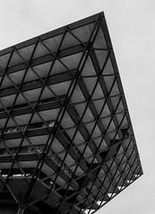 Slovak Radio (Yanis Mathiopoulos) Tags: slovak radio building bratislava slovakia bw bnw black white
