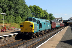 37109 Bury Bolton Street (CD Sansome) Tags: trains 37109 37 br bury bolton east lancs railway lancashire station preserved heritage