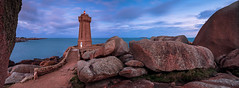 Men-Ruz lighthouse panorama (lavignassey) Tags: bretagne menruz ploumanach panorama phare brittany france lighthouse