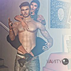 Vanity Poses - Fck It Bento Couple Pose (V ♪) Tags: vanityposes vp newrelease posefair couplepose smoothtransition bentopose secondlife slevents virtualworld 3d