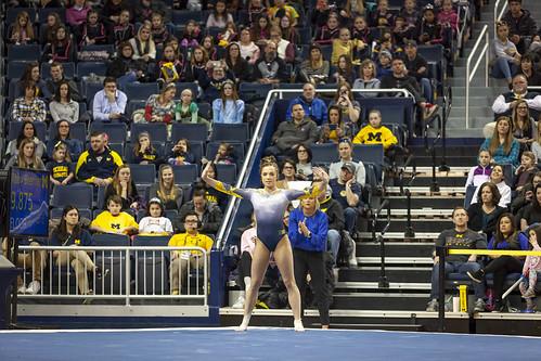 MGoBlog-JD Scott-Michigan Women's Gymnastics-University of Iowa-Crisler Center-Ann Arbor-2019-51