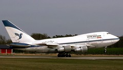EP-IAC 747SP Iran Air (RedRipper24) Tags: airliners aviation aircraft 747sp boeing747 commercialaviation boeing747sp