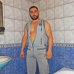 Spartacus (269) (@the.damned.spartacus) Tags: suited daddy man suits suite loafers male muscle hunk big chest hairy gym bulge shoes shirt fetish beard
