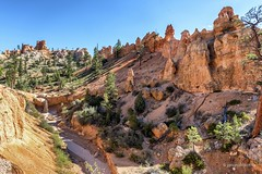 Arizona semi-désertique (Yasur.sur.Flickr) Tags: arizona usa étatsunis paysage landscape été summer orange rivière river érosion escarpement escarpment roc rock rocher rochers geology géologie nikon d750 yasur