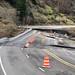 Slide damage on U.S. 101 north of Brookings