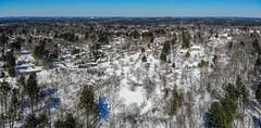 Acton Arboretum Aerial Panorama (knuts-photos) Tags: knuthansen drone acton arboretum aerial winter djimavicair