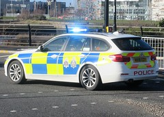 Cleveland Police & Durham Constabulary (NX18 CCY) (ferryjammy) Tags: durham cleveland police nx18ccy