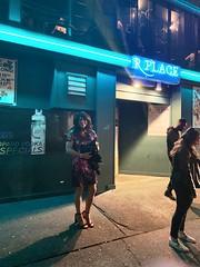 In front of the club (robinlane98) Tags: tgirl trans robinlane98 genderfluid gurl crossdress cd