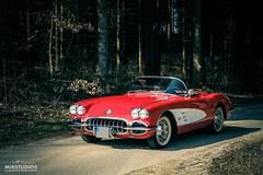 Corvette C1, 1960 (mibstudios) Tags: corvette c1 1960 retro classics car oldtimer mib mibfoto auto red redspace