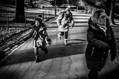 A run in the park (broadswordcallingdannyboy) Tags: red mono bw city manhattan nyc ny newyork eos7d leonreillyphotography leonreilly copyright donotcopy mood atmosphere newyorkcity usa eastcoast americafuckyeah america bwcity light newyorkminute newyorkstateofmind newyorkmono nycinbw