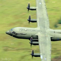 Lockheed C130 Hercules (Steve Moore-Vale) Tags: corriscorner c130 hercules longsheep machloop military lowlevel raf royalairforce aeroplane
