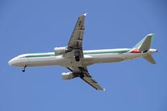 Alitalia A321, I-BIXK, FCO-TLV (LLBG Spotter) Tags: aircraft a321 tlv airline alitalia ibixk llbg