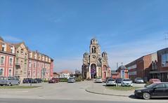 Aerodrom, St. Sava church and School Seminary of St. Jovan Zlatousti (left) (FromKG) Tags: kragujevac serbia 2019 church stsava svetisava