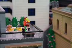 Relaxation (AyliffeMakit) Tags: lego legos minifigure minifigures photo photos photography minifig minifigs denmark billund 2018 legohouse homeofthebrick display moc cityscape