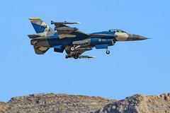 General Dynamics F-16C Fighting Falcon of the 64th Aggressor Squadron (64 AGRS) from Nellis AFB (Norman Graf) Tags: ordnance nellisafb aircraft p5ctstcts airplane 831159 generaldynamics redflag172 aircombatmaneuverinstrument 57atg f16c electronicwarfare analq188electronicattacktrainingpod aim9 aim9x 64agrs missile militaryexercise f16 usaf aim aim120 aim120c deadgecko 57thadversarytacticsgroup 64thaggressorsquadron acmi amraam advancedmediumrangeairtoairmissile airinterceptmissile combattrainingsystem ew fighter fightingfalcon jet plane sidewinder tacticalcombattrainingsystem unitedstatesairforce viper wa wa59