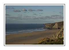 Sun, sand,sea,sky (Audrey A Jackson) Tags: canon60d cornwall sunshine sea sky sand nature beauty clouds