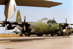 66-0220 Lockheed HC-130P Combat King cn 382-4179 US Air Force RAF Fairford 23Jul89 (kerrydavidtaylor) Tags: ffd egva c130hercules usaf unitedstatesairforce