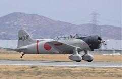 Aichi D3A Val (Vultee BT-15) NX67629 (GEM097) Tags: airplane aircraft airshow planesoffame chinoairport aichi d3a val nx67629