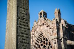 _DSC1445.jpg (Hideous Elf) Tags: abbey chruch detail grave lights melrose melroseabbey shadow stone