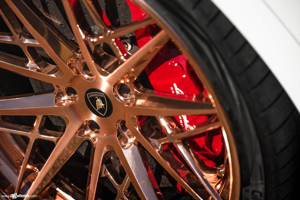 Lamborghini Urus - F538 Brushed Polished Rose Gold