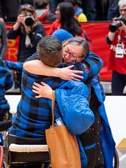 Jonathan Strome - 2019 02 21 Wheelchair Basketball Medal Ceremony (JTStrome) Tags: wheelchair basketball medal medals ceremony finals alberta ontario smile blue red athlete athletes sport