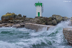 Trévignon (Patrick ARFI) Tags: lighthouse landscape finistère wind ocean wave sea seascape bretagne coast brittany phare ngc