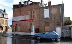 Citroën (XBXG) Tags: 0953ms citroën ami 8 club 1970 citroënami8 citroënami ami8 blue bleu avenue du président roosevelt givet champagne ardenne ardennes grand est grandest france frankrijk vieille publicité murale pub peinture française old historic french wall ad reclame sign