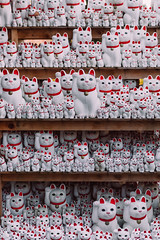 Take Me To Your Leader (Peter Stewart Photography) Tags: gotokuji temple tokyo japan cats maneki neko statues shrine popular tourism good fortune lucky fun happy kitty